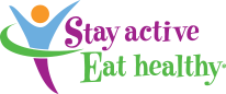 Stay Active Eat Healthy logo