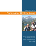 Plannign For Healthy Aging
