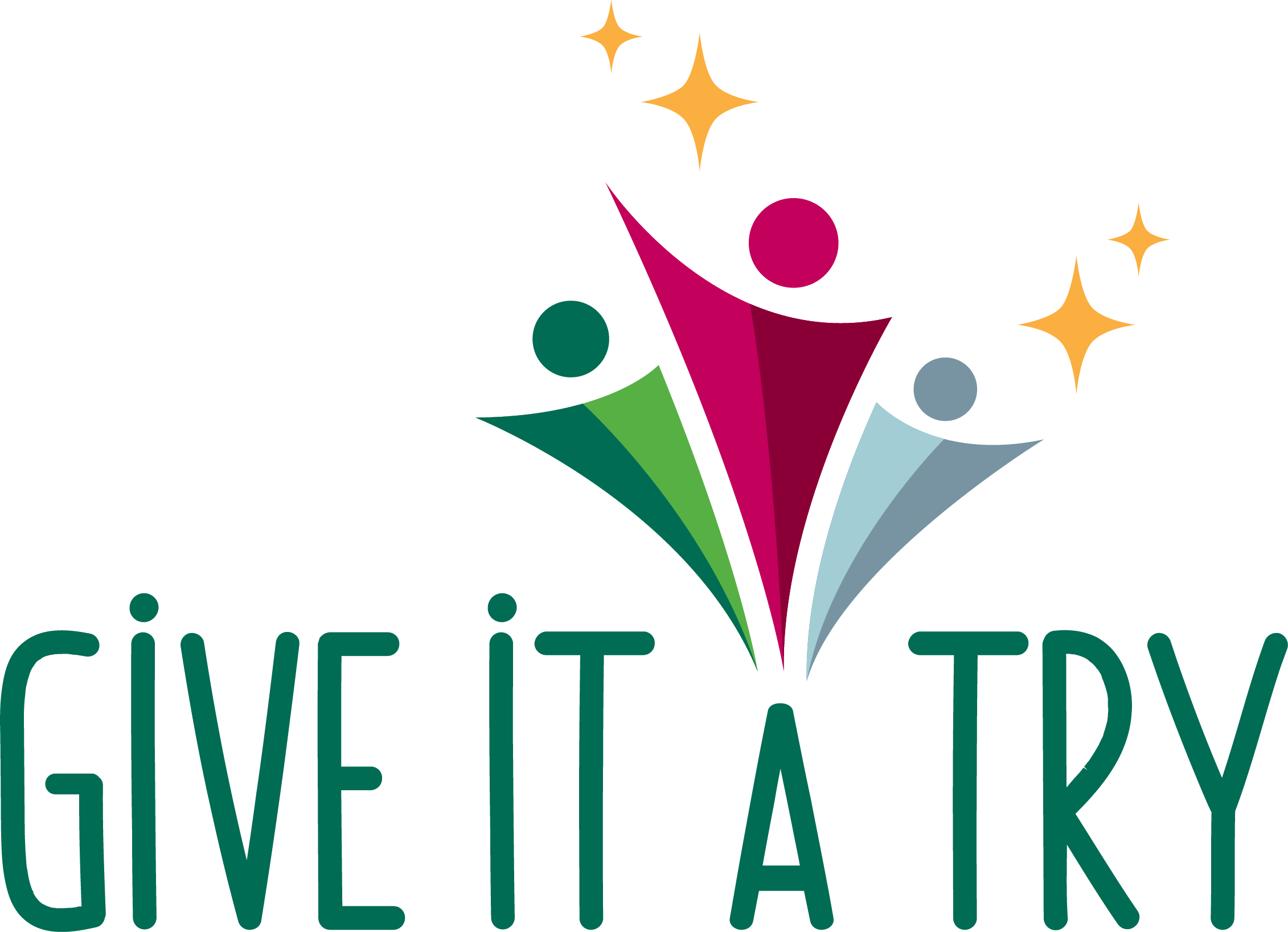 Rgb Give It A Try Logo Transparent Colour