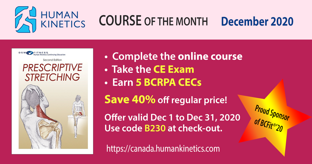 2020 12 Dec Course Of The Month